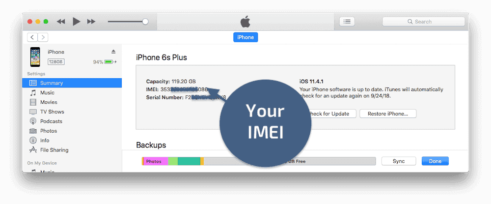 How to find your IMEI number iPhone and iPad Cellular